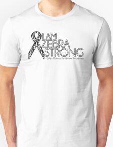 Zebra Strong- Ehlers Danlos Syndrome Awareness Unisex T-Shirt