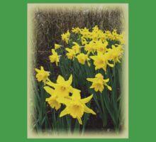 Easter Daffodils Vignette T-Shirt