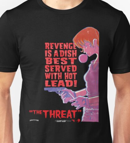 Guns N' Honey: The Threat Unisex T-Shirt