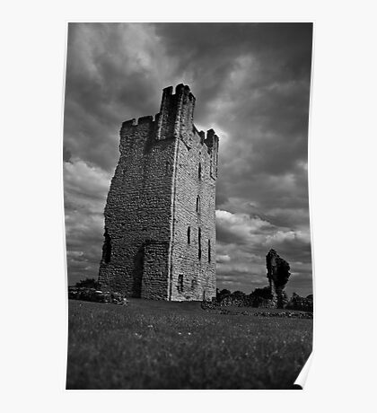 Helmsley Castle   North Yorkshire Poster