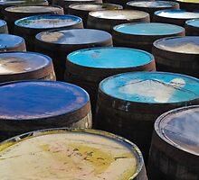 Islay whisky barrels by Jaime Pharr