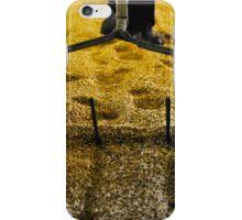 Raking malted barley iPhone Case/Skin