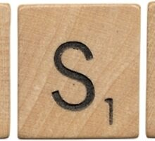 Wood Scrabble Tuesday! by damian albuquerque