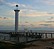 Lighthouse in Biloxi, Mississippi by Charldia