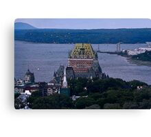 Chateau Frontenac Canvas Print