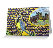 271 - MEADOWLARK CASTLE - DAVE EDWARDS - COLOURED PENCILS & FINELINERS - 2009 Greeting Card