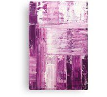 Purple surface Canvas Print