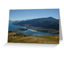 Queenstown View, Lake Greeting Card