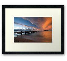 Lake Rotorua. Framed Print