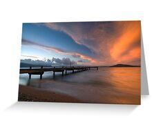Lake Rotorua. Greeting Card