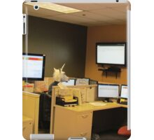 Unicorn in a cubicle #1 - the death of magic iPad Case/Skin