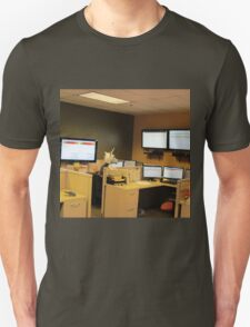 Unicorn in a cubicle #1 - the death of magic T-Shirt