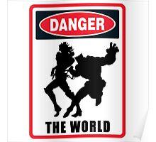 JoJo's Bizarre Adventure - Danger - The World Poster