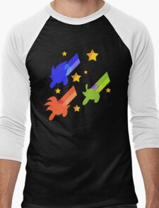 And The Day Was Saved, Thanks to... the Powerpuff Z-warriors ! Men's Baseball ¾ T-Shirt