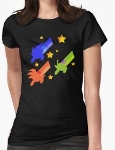And The Day Was Saved, Thanks to... the Powerpuff Z-warriors ! Womens Fitted T-Shirt