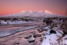 Mt Ruapehu, Sunrise. by Michael Treloar