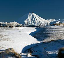 Mt Ngauruhoe. by Michael Treloar