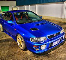 '99 Subaru STI GM8 Version 5 Coupe by PjSPhotography