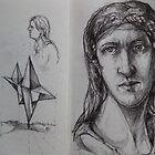 Train sketches 2009 by Jedika