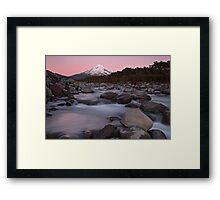 Taranaki Dreaming Framed Print
