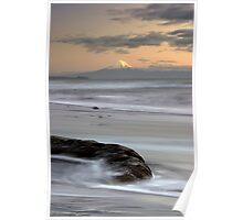 Mt Taranaki. Poster