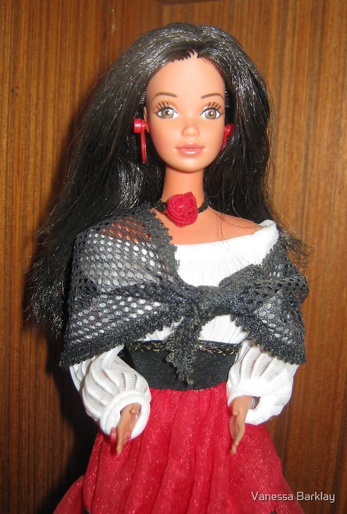 Hispanic Barbie by Vanessa Barklay