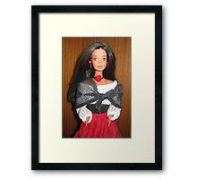 Hispanic Barbie Framed Print