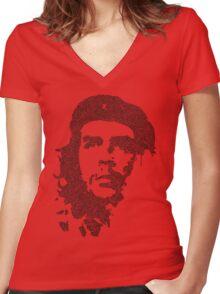 Che Garabato Women's Fitted V-Neck T-Shirt