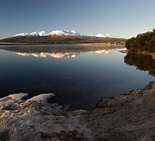 Lake Otamangakau. by Michael Treloar