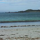 Waves On A Hebridean Shore - Bostadh Beach by MidnightMelody