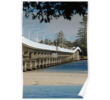 Forster - Tuncurry Bridge NSW Australia Poster