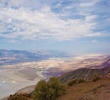 Death Valley, California -  as seen from Dantes View by Kent Burton