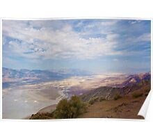 Death Valley, California -  as seen from Dantes View Poster
