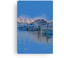 The Night Before the White Marlin Open Canvas Print