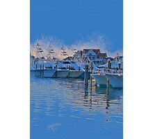 The Night Before the White Marlin Open Photographic Print