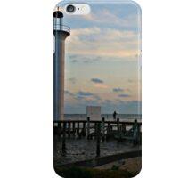 Lighthouse in Biloxi, Mississippi iPhone Case/Skin
