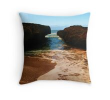 Shore Break Throw Pillow