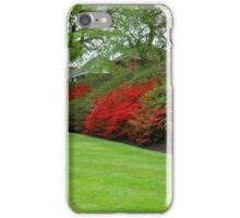 Azalea Border - Preston Temple iPhone Case/Skin