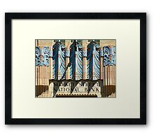 Philadelphia: Market Street National Bank Framed Print
