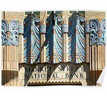 Philadelphia: Market Street National Bank Poster