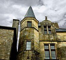 The Tower of Rochefort-en-Terre by Buckwhite