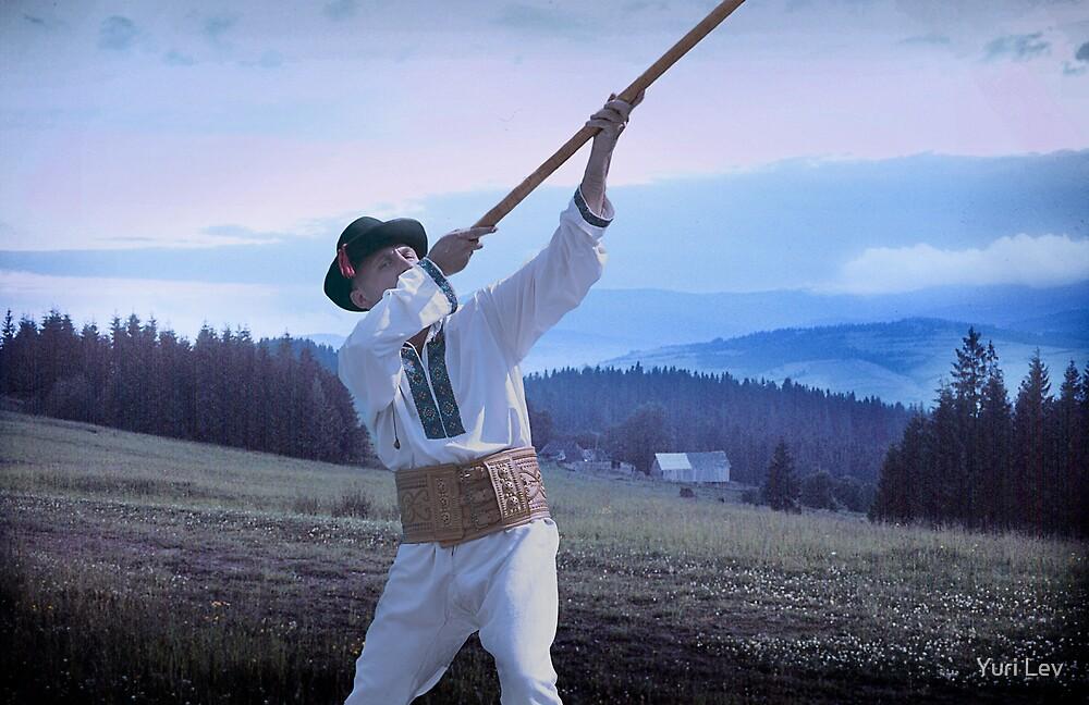 Carpathian Highlander by Yuri Lev
