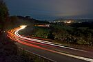 Lights to Tairua. by Michael Treloar