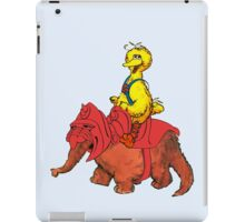 He-Bird and Battle Snuffy iPad Case/Skin