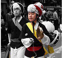 Korean Drummer Photographic Print