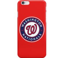 Nationals iPhone Case/Skin