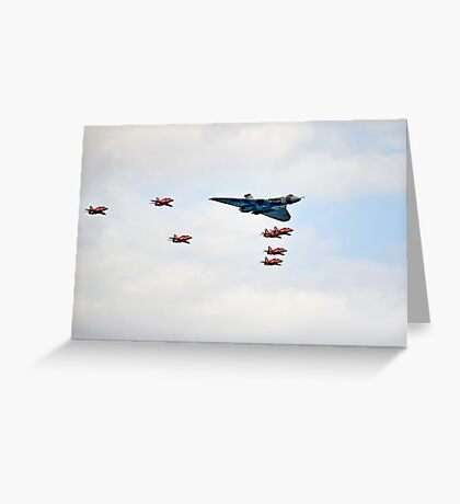 Vulcan Arrows Greeting Card