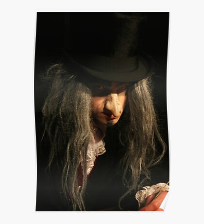 Ebenezer Scrooge on his best Poster