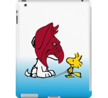 Battle Snoopy and He-Bird iPad Case/Skin