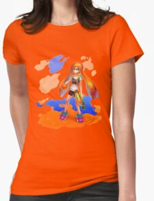 Splatoon Womens Fitted T-Shirt